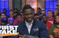 Antonio-Brown-on-Addressing-Trade-Rumors-Steelers-For-Life-First-Take-attachment