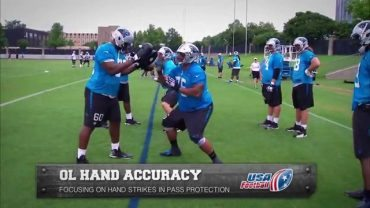 Carolina-Panthers-Hand-accuracy-drill-Offensive-line-attachment