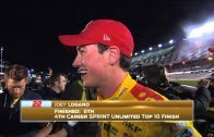 Joey-Logano-and-Kevin-Harvick-Exchange-Words-Sprint-Unlimited-2015-NASCAR-Sprint-Cup-attachment