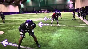 Northwestern-Wildcats-shuffle-pedal-angle-break-drill-Defensive-backs-attachment