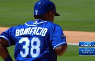 Bonifacio-launches-first-career-home-run-attachment