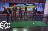 Jessica-Alba-And-Her-Dad-Practice-Golf-SportsCenter-attachment