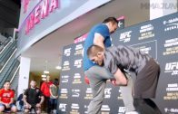 Khabib-Nurmagomedov-punishes-training-partners-at-UFC-209-open-workout-in-Las-Vegas-attachment