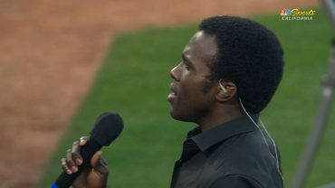 LAA@OAK-Joshua-Henry-sings-national-anthem-attachment