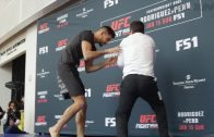 Yair-Rodriguez-works-out-for-the-fans-at-UFC-Fight-Night-103-open-workouts-attachment