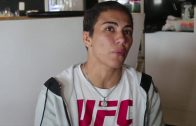 Jessica-Andrade-trains-for-Joanna-Jedrejczyk-fight-with-glove-UFC-champ-gave-her-attachment
