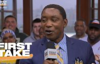 Isiah-Thomas-Says-Pressure-On-Steph-Curry-Not-Kevin-Durant-First-Take-June-12-2017-attachment