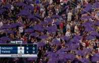 Twins-honor-Prince-with-purple-umbrellas-attachment