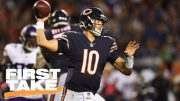 First-Take-grades-Bears-QB-Mitchell-Trubiskys-NFL-debut-First-Take-ESPN-attachment