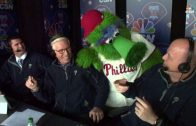 ATL@PHI-Phillie-Phanatic-joins-broadcast-booth-attachment