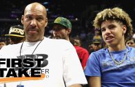 First-Take-sides-with-LaVar-Ball-on-LaMelos-NCAA-Eligibility-First-Take-ESPN-attachment